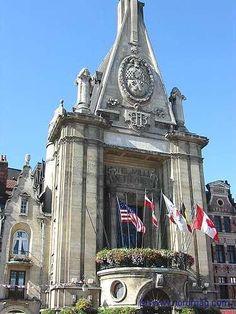 Pas-de-Calais : Béthune : Hôtel de ville.
