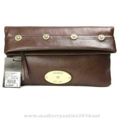 3f07af4534fa Cheap Womens Mulberry Mitzy Leather Clutch Bag Dark Coffee On Cyber Monday  Mulberry Outlet