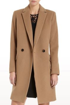 camel coat. always the right choice.