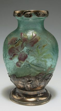 Vase 'Anémones' 1895-1900 - Gallé, Emile, Nancy