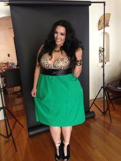 Rosie Mercado - star of Nuvo TV's Curvy Girls.