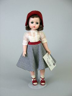 1956 #1226 Madame Alexander Lissy Doll With Original Hang Tag