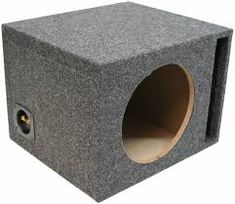 For Car Single Ported Subwoofer Box Car Audio Stereo Bass Speaker Sub Enclosure, Gray 15 Inch Subwoofer Box, Best Subwoofer, Subwoofer Box Design, Powered Subwoofer, Car Audio Shops, Sub Box, Fit, Ebay, Air Space