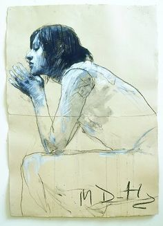 Mark Demsteader is one of the most popular and influential figurative artists in Britain today, Mark's drawings have a sensitivity and an unfinished quality that make them powerful, enigmatic and stunning