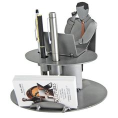 Executive Business Card Holder H&K Steel Sculpture H & K Steel Sculpture http://www.amazon.com/dp/B002RJH90Q/ref=cm_sw_r_pi_dp_BE0Wtb01GZVHSEG8