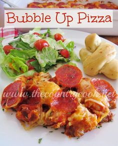 The Country Cook: Bubble Up Pizza