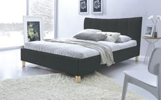 What to Look For In an Ideal Bed Base and Mattress - The Fashionable Housewife Bedroom Cupboard Designs, Bedroom Cupboards, Bedroom Bed, Bedroom Decor, Upholstered Bed Frame, Teenage Room, Bed Base, Queen Beds, King Queen