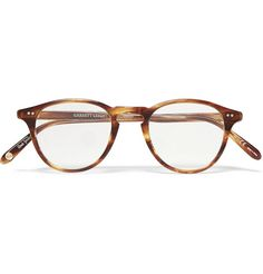 Garrett Leight California Optical's 'Hampton' glasses reinterpret the classic style that were standard issue for WWII soldiers. These hand-finished round frames are crafted from two-tone horn-effect acetate and designed with a signature keyhole bridge. Designer Glasses For Men, Glasses Trends, Harper Lee, Optical Glasses, Mr Porter, Optical Frames, Mens Glasses, Glasses Frames, Tortoise Shell