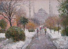 Ressam Galimov Azat 1958 yılında doğdu ve St Petersburg,da yaşıyor - çalışıyor. V. Mukhina, Leningradsky Sanat ve Endüstri Akademisi - ...