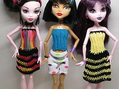 Ravelry: Monster High - free pattern