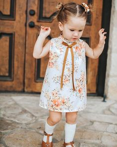 Pretty Baby and Toddler Girl Dress   Petit Baobao