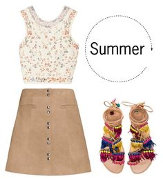 """""""Summer"""" by rean05 on Polyvore featuring Exclusive for Intermix, Etro en Elina Linardaki"""
