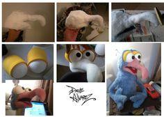 Gonzo the Great puppet by me by DaveAlvarez.deviantart.com on @deviantART
