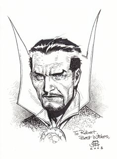 Jimmy Cheung - Dr Strange Comic Art
