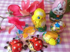 Beautiful Easter chocolate the old fashioned way.