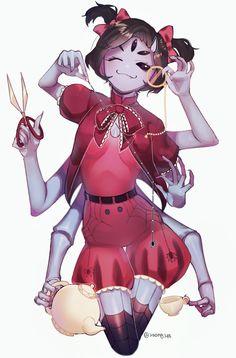 Female Monster, Monster Girl, Undertale Drawings, Undertale Fanart, Dnd Characters, Female Characters, Female Character Design, Character Art, Muffet Undertale