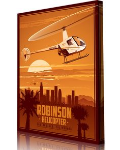 Share Squadron Posters for a 10% off coupon! Robinson Helicopter Company – Los…