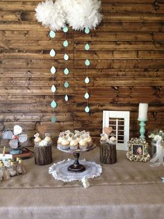 Rain cloud decor idea