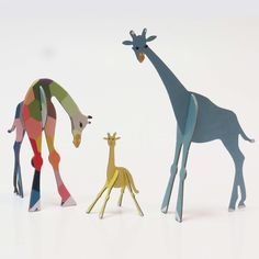 In Jungle Animals set we also have another family that includes proud daddy giraffe, loving mummy giraffe and a bit wobbly new born baby giraffe...  https://www.facebook.com/opopitout