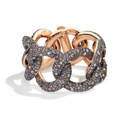 Pomellato Tango Bracelet w/ Brown Diamonds