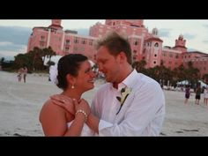 St Pete Beach wedding videographers highlights from The Don CeSar.  Our video services available for as little as $795 depending on the date of your wedding.  http://celebrationsoftampabay.com/