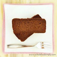 Gâteau chocolat paleo sans gluten