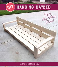 High Quality Easy DIY Hanging Daybed | Remake My Outdoors | Pinterest | Daybed, Hanging  Beds And Backyard Retreat Home Design Ideas