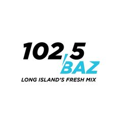 102,5 BAZ - Long Island's Fresh Mix Concept Logo