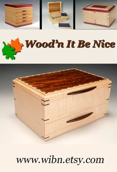 Custom made jewelry box with lots of flexible storage. Built of the finest materials and crafted to last a lifetime. Jewelry Box, Jewelry Making, 5th Wedding Anniversary, Wood Art, Etsy Seller, Storage, Crafts, Jewellery Box, Purse Storage