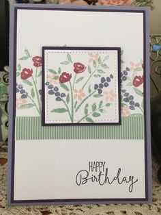 Ideas birthday card ideas for women inspiration Birthday Wishes Cards, Birthday Cards For Women, Handmade Birthday Cards, Female Birthday Cards, Hand Made Greeting Cards, Making Greeting Cards, Making Cards, Scrapbook Cards, Scrapbooking