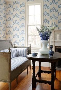 Gustavian style at Grauer Decorating Center Lancaster PA Swedish Interiors, Cottage Interiors, Home Decor Trends, Home Decor Styles, Decor Ideas, Swedish Decor, Swedish Style, Swedish Design, Vibeke Design