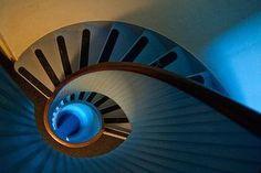 L'escalier nous fait de l'oeil...