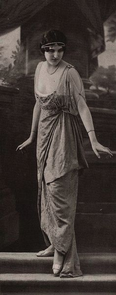 Más tamaños | robe du soir 1913 | Flickr: ¡Intercambio de fotos!