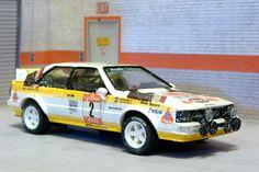 Scalextric Tecnitoys-Altaya. Audi Quattro. 26º Rally Sanremo 1984. Stig Blomqvist-Björn Cederberg. #slotcar