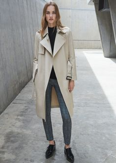 Trench coton