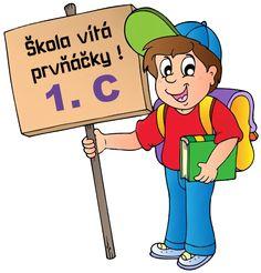 Gify Nena - škola str. 2 School Days, Back To School, School Clipart, Kindergarten, Preschool, Clip Art, Fictional Characters, Board, Frames