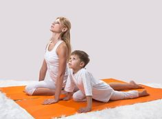 Sunrise/Sunset Sequence - Yoga for Kids – 5 Simple poses to start with