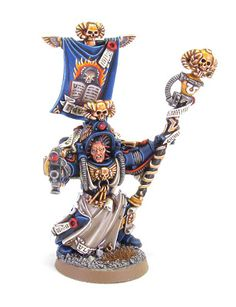 Tale of Painters: Showcase: Ultramarine Chief Librarian Tigurius