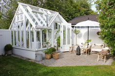 Get advice on the greenhouse electrical system and accessories such as the lights, fans, and radiators, etc. These all help your greenhouse to function. Backyard Greenhouse, Greenhouse Growing, Greenhouse Plans, Small Greenhouse, Outdoor Spaces, Outdoor Living, Polycarbonate Greenhouse, Plant Watering System, She Sheds