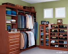 It seems like there's never quite enough closet space. Let one of our experienced closet designers revamp your closet with a custom solution to fit your needs. Closet Space, Walk In Closet, California Closets, Custom Closets, Custom Shower, Closet Designs, Shower Enclosure, Interior Decorating, Storage