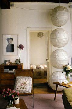 Paper lanterns - thisivyhouse