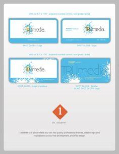 Truemdia Business Card Design.