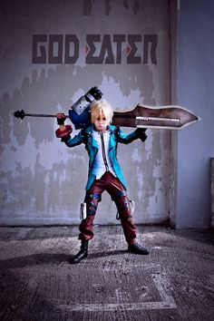 God Eater: The Lone Hero #cosplay