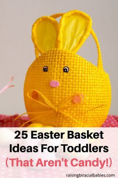 Non candy easter basket ideas basket ideas easter baskets and 25 easter basket ideas for toddlers that arent candy negle Gallery
