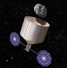 NASA is considering capturing an asteroid and placing it in Lunar orbit.