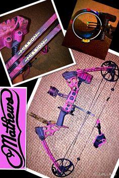 Pink Mathews mission craze. Girls hunt. Love my bow