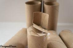 Repurposing Toilet Paper Rolls Into Seedling Starters