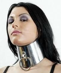 -- - Full set of women Armor Molded Posture Collar Leather Bondage Choker for Submissive image 6 The Canadian Collar helps to maintain the head in a up-right posture. Slave Collar, Collar And Leash, Collar And Cuff, Collar Choker, Leather Collar, Posture Collar, Collars Submissive, Punk, Transgender Girls