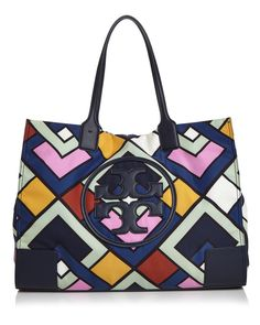 4a96b7cf7 Tory Burch Ella Printed Nylon Tote Handbags - Bloomingdale's