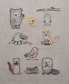 Artfully Embroidered: Motifs and Patterns for Bags and More - Google Search
